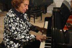 Teresa Procaccini al pianoforte
