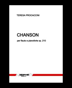 TERESA PROCACCINI Chanson op. 210 per flauto e pianoforte (2010)